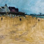Eric Atkinson, Seaton Carew Beach, Hartlepool, Tees Valley, 1954.
